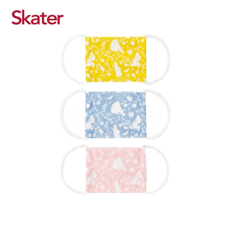 Skater 幼兒紗布口罩(3枚/包)-迪士尼公主(baby適用)★衛立兒生活館★