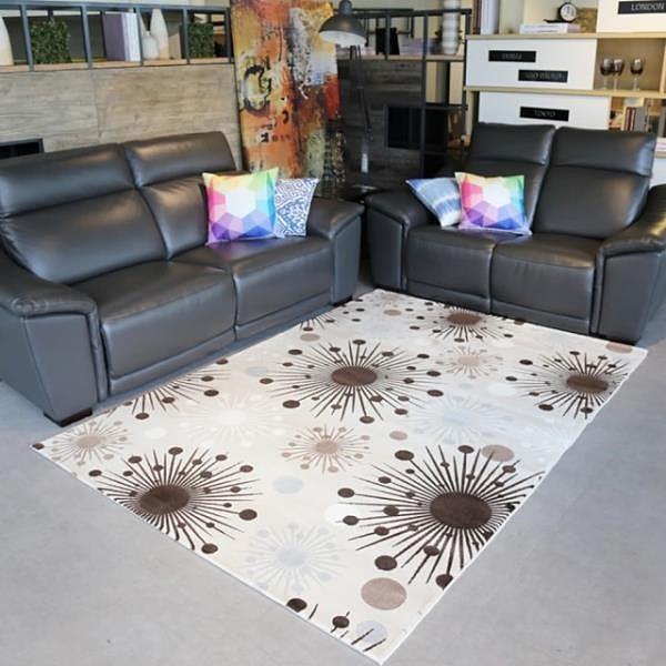 【南紡購物中心】【山德力】耐磨高透氣親膚地毯-希臘170x240cm