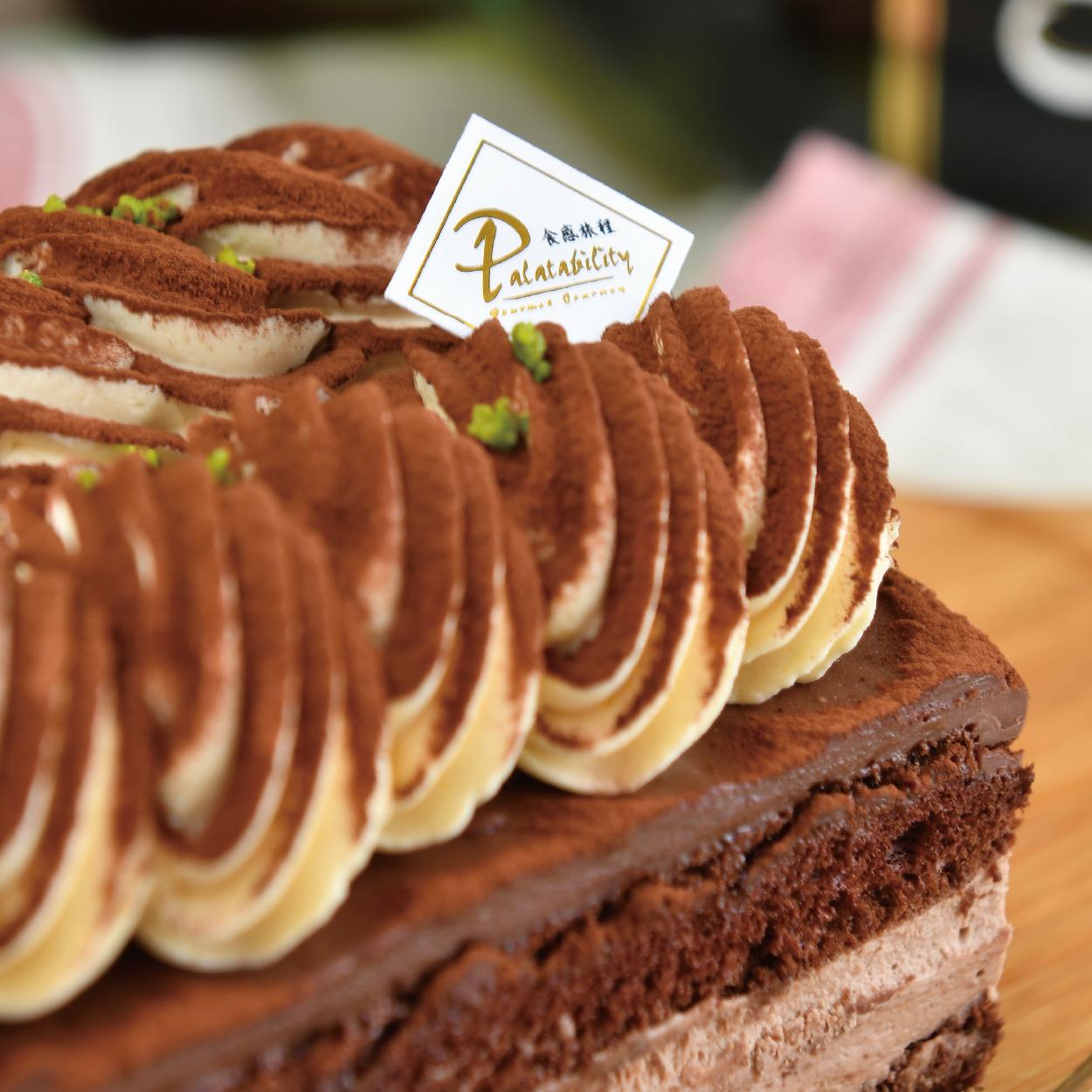 ◆含運費◆黑爵士蛋糕 【千千直播推薦】貝禮詩奶酒 / 法國進口巧克力 / 酒漬櫻桃 / 屬於大人的甜點【食感旅程Palatability】
