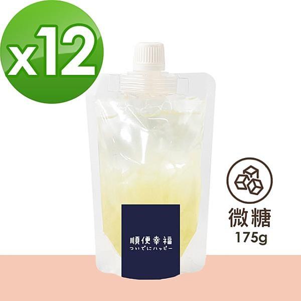 【南紡購物中心】順便幸福-盛夏沁涼白木耳露隨身包-原味微糖12包(175g/包)