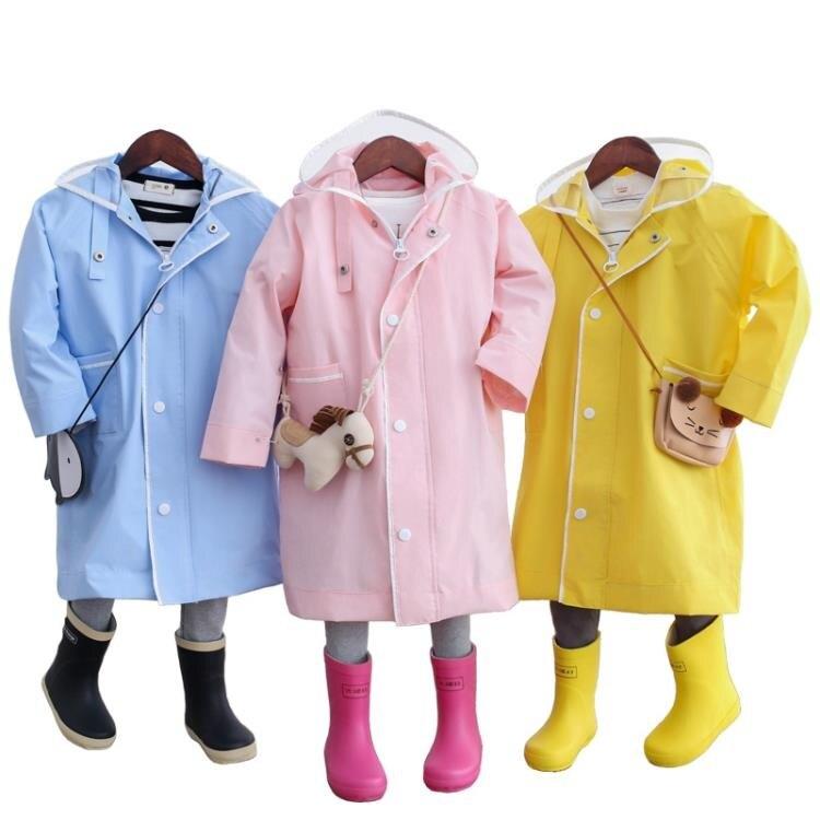 雨衣 男童女童連體雨衣雨披