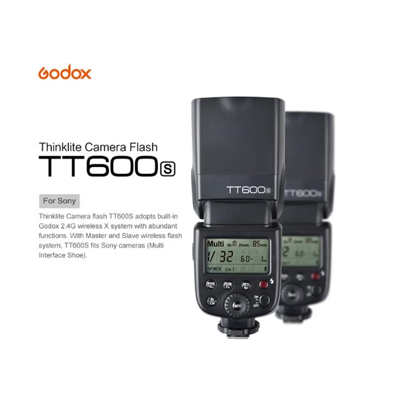 GODOX TT600S 神牛 SONY MI 新式熱靴 X1 無 線觸發 手動閃光燈 高速閃光燈 SONY專用