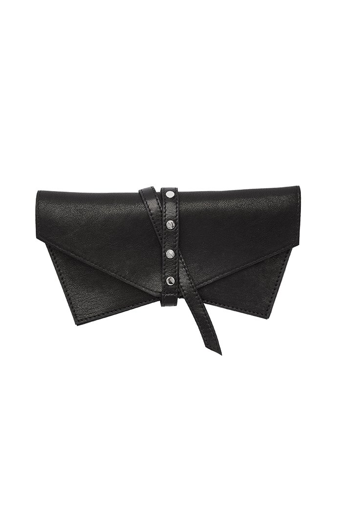 Leather Sunglasses Case in Pitch Black PRITCH London.com