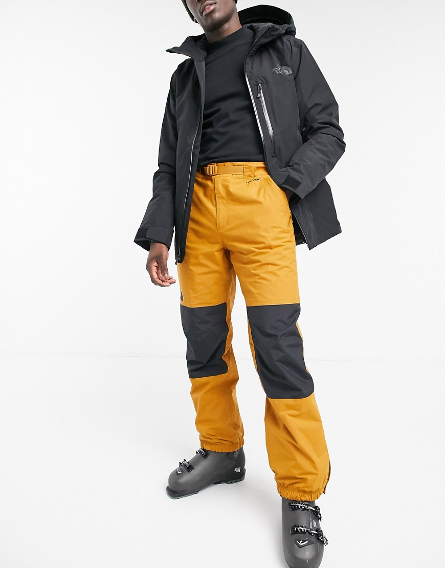The North Face Up and Over ski pant in orange-Brown