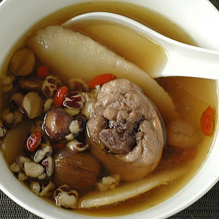 個人暖心獨享包 - 精燉藥膳雞湯(湯底300g+雞腿塊x2) 赤豪家庭私廚
