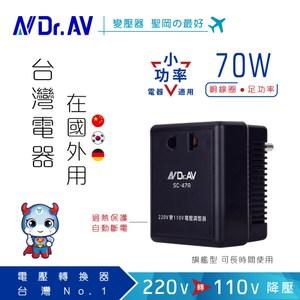 N Dr.AV聖岡科技 SC-47A 220V變110V數位電壓調整器