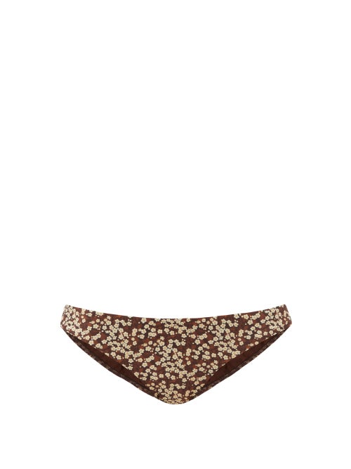 Matteau - The Classic Bikini Briefs - Womens - Brown Print