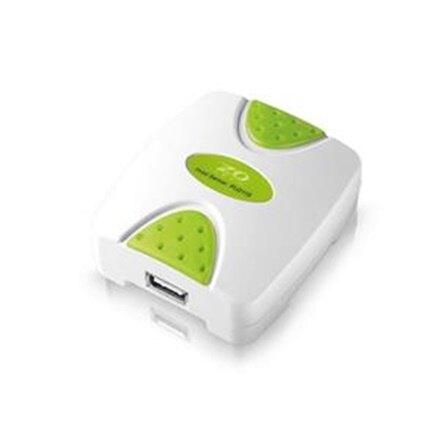 【4/1-4/9領券現折200】ZO TECH PU211S USB埠印表伺服器(新版綠色包裝)