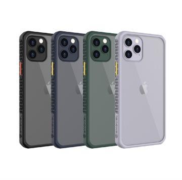GNOVEL iPhone12 Pro Max透明背蓋保護殼-黑(Mirror Armour 6.7 BK)