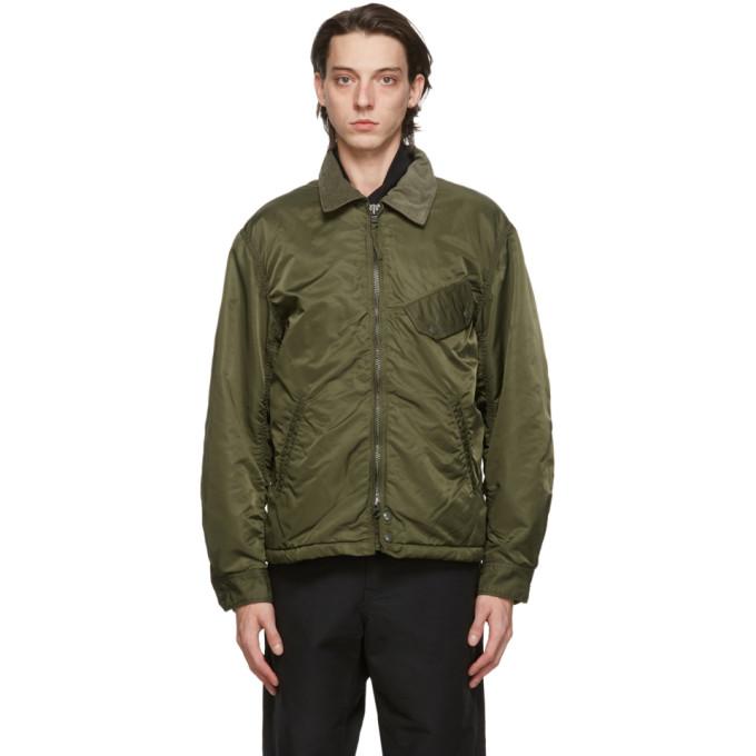 Engineered Garments 绿色 Flight Driver 夹克