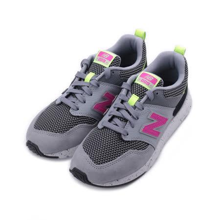 NEW BALANCE 009 V1 復古跑鞋 灰紫螢 WS009OAB 女鞋