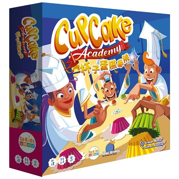『高雄龐奇桌遊』 杯子蛋糕學院 Cupcake Academy 繁體中文版 正版桌上遊戲專賣店