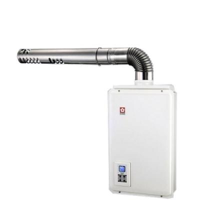 送膳魔師平底鍋★(全省安裝)櫻花16公升強制排氣熱水器天然氣H-1680N