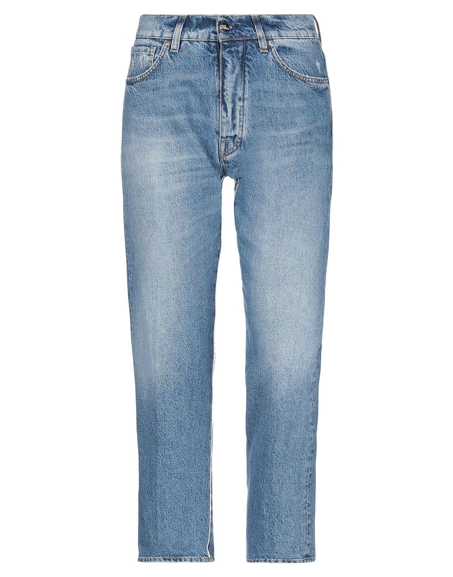 2W2M Denim pants - Item 42821021
