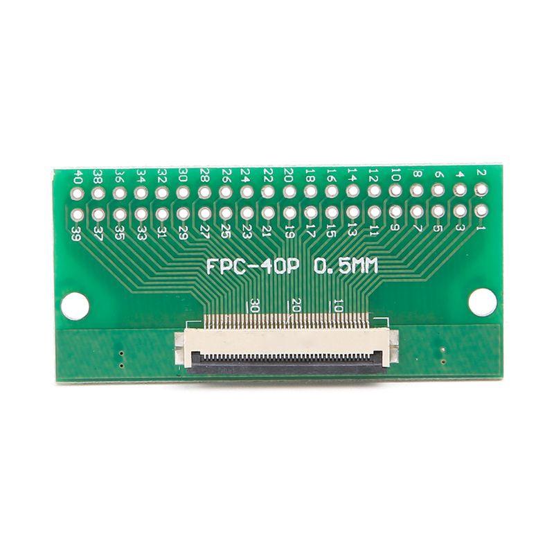 0.5mm FPC / FFC至2.54mm FPC / FFC SMT PCB轉換器板焊接,帶連接器