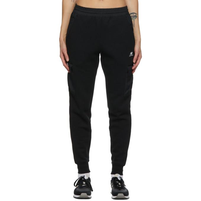 New Balance 黑色口袋运动裤