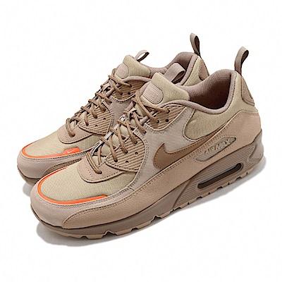 Nike 休閒鞋 Air Max 90 Surplus 男鞋 氣墊 舒適 避震 皮革 質感 軍事風格 棕 CQ7743200
