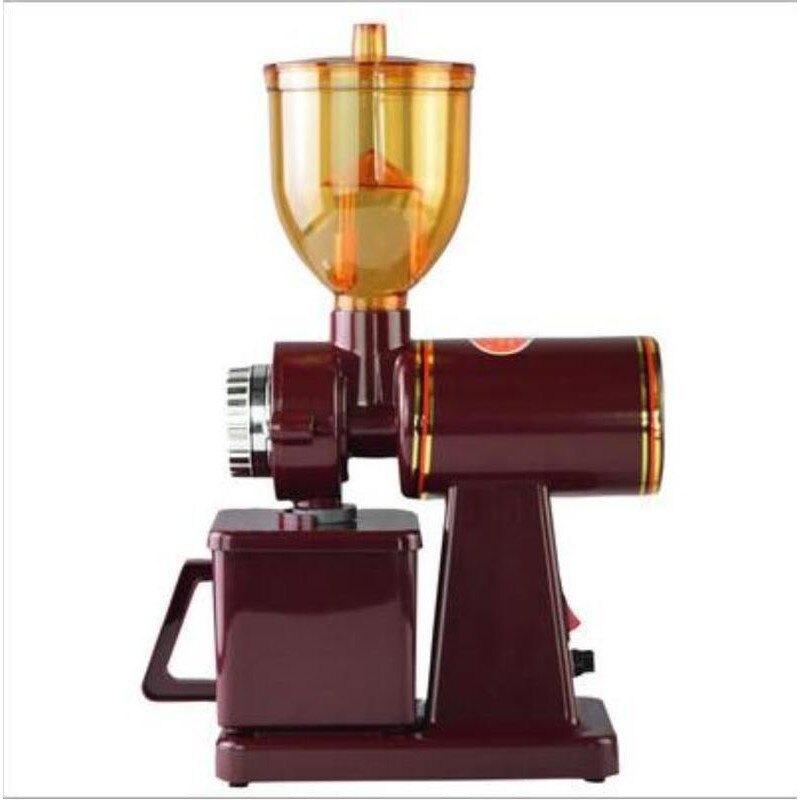 【 一日到貨】 110V磨豆機 電動咖啡磨豆機 600N家用咖啡豆研磨機 不銹鋼磨磨粉機 粉碎機 可調節粗細研磨 年會尾牙禮物