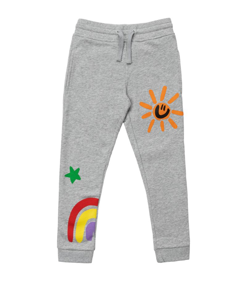 Stella Mccartney Kids Crayon Weather Print Sweatpants (2-14 Years)