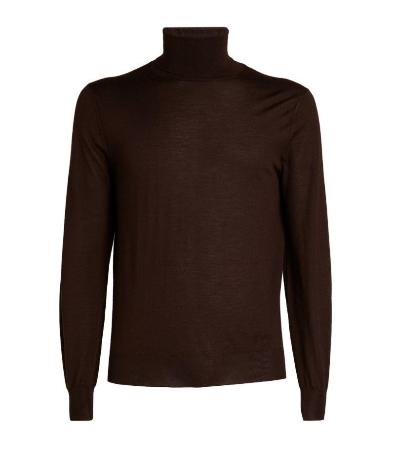 Brioni Wool Rollneck Sweater