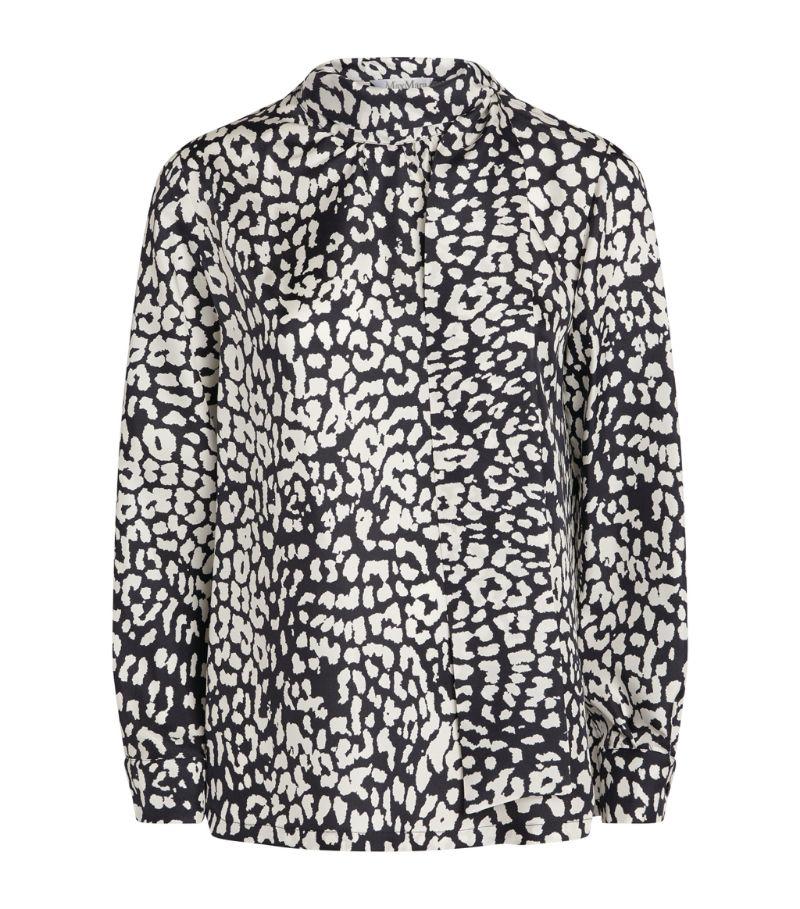 Max Mara Patterned Silk Shirt