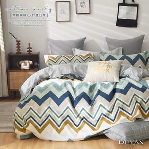 《DUYAN 竹漾》100%精梳純棉雙人加大床包三件組- 吉普賽主義