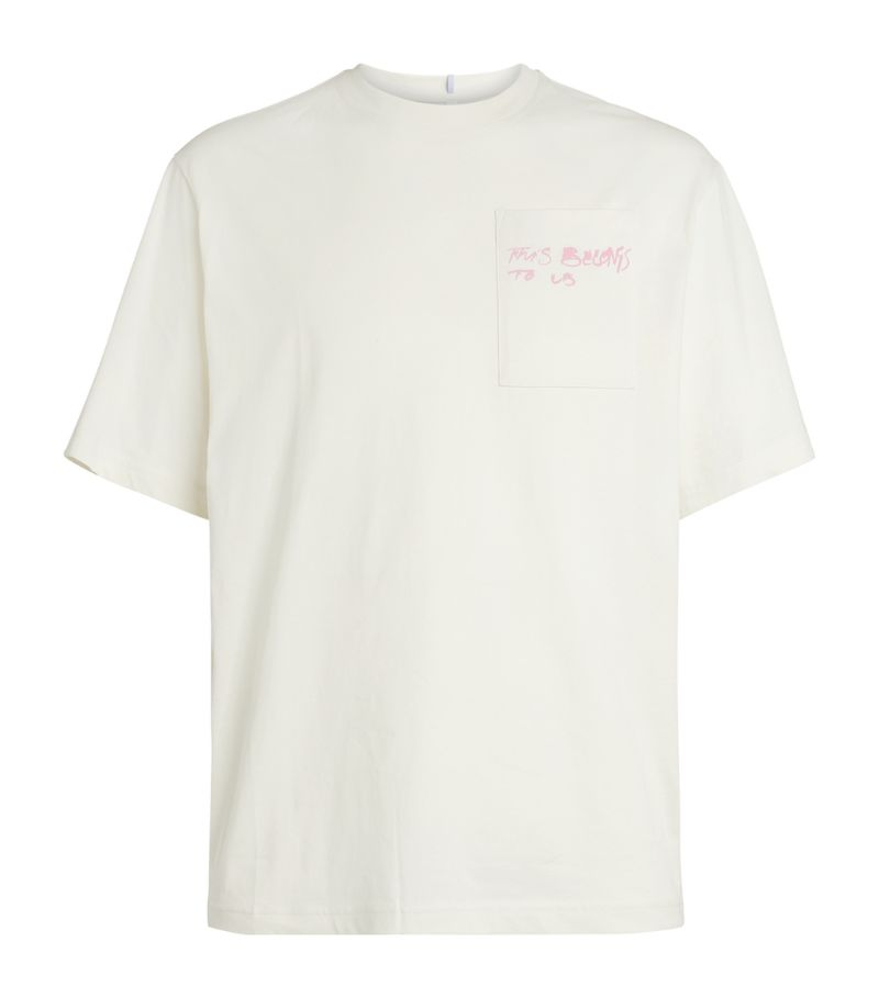 Mcq Cotton Printed T-Shirt