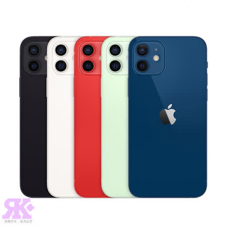 Apple iPhone 12 128G 6.1吋智慧型手機-贈手提兩用後背包+HTC保溫瓶+HTC旅行袋+PD+QC快充頭+空壓殼+玻保