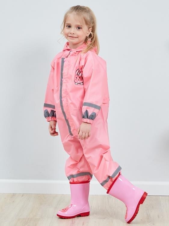 雨衣 連體兒童雨衣男童女童