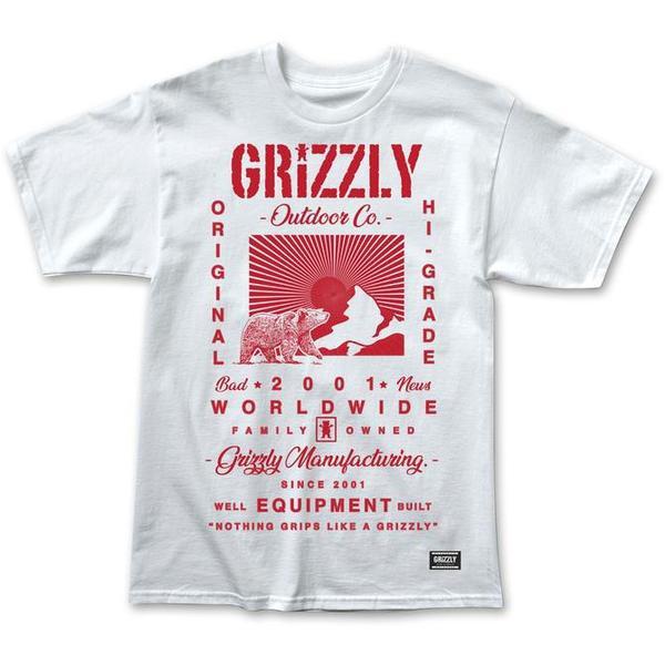 Grizzly Tagline T恤《Jimi Skate Shop》