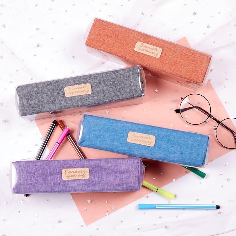 鉛筆盒 文具盒 韓版文具收納盒 收納袋 鉛筆盒大容量 自動鉛筆 收納盒 小朋友文具盒 鉛筆(10入)