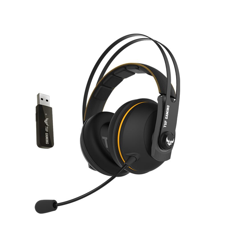 [免運速出] ASUS 華碩 TUF GAMING H7 WL 無線 電競耳機麥克風 黑色 PCHot