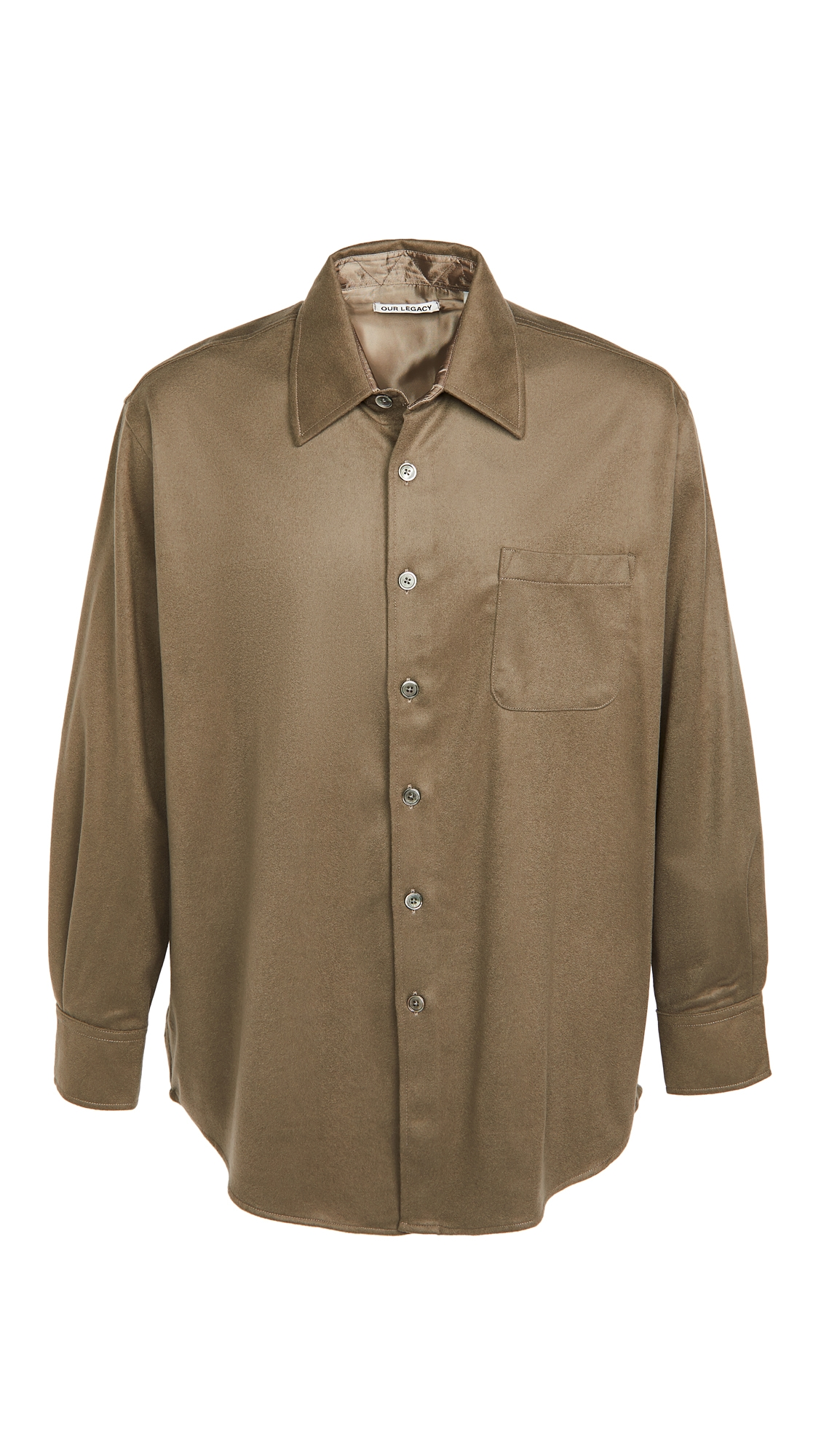 Our Legacy Melton Wool Above Shirt