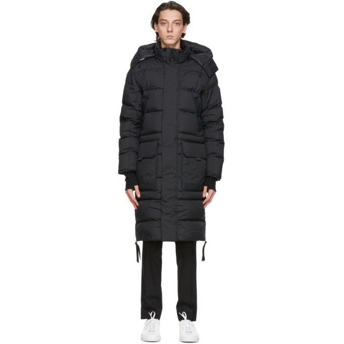 Canada Goose 黑色 Black Label 黑标 Warwick 羽绒派克大衣