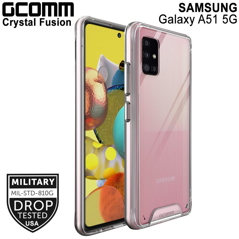 GCOMM Galaxy A51 5G 晶透軍規防摔殼 Crystal Fusion