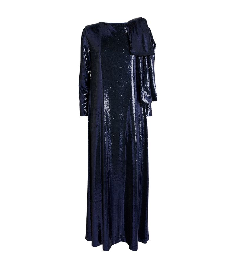 Bernadette Sequin-Embellished Richard Gown