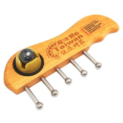 一品川流魔法舒-多功能按摩器-短梳5釘+磁石-2入組