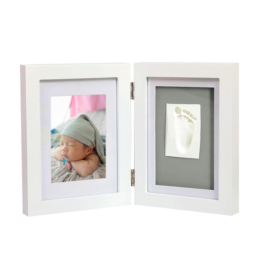 oncebaby寶寶手足模印相框(極簡桌上型) 彌月禮 紀念品