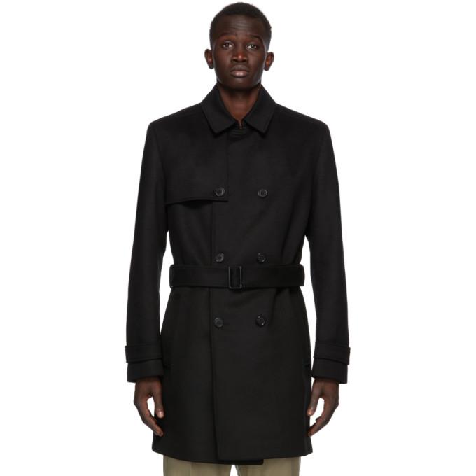 HUGO 黑色 Maluks 大衣