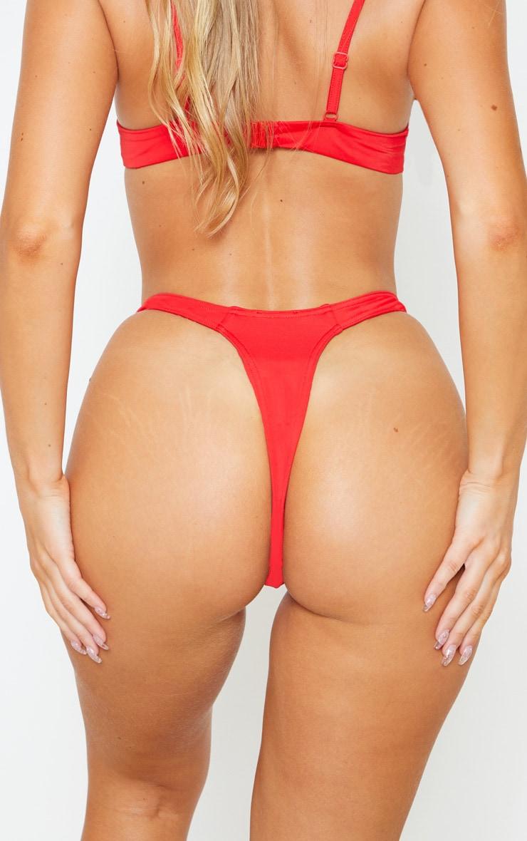 Red Mix & Match Thong