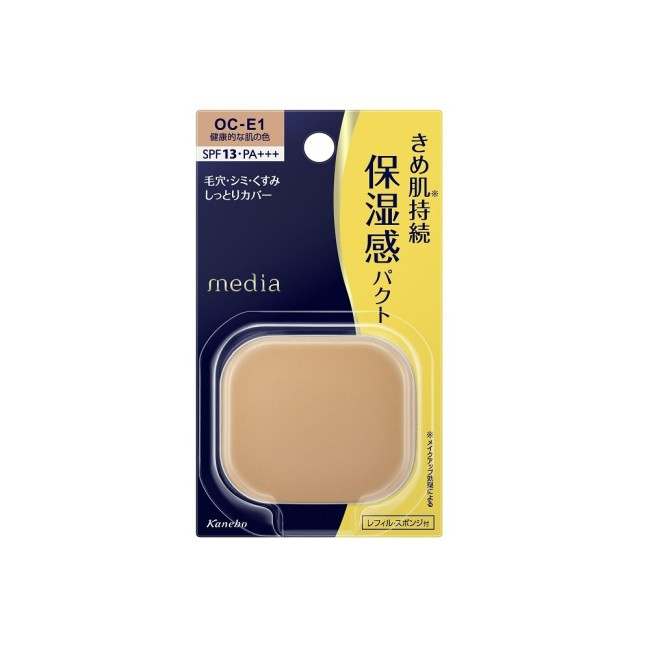 媚點 潤透上質無瑕粉餅 OC-E1 健康膚色11g