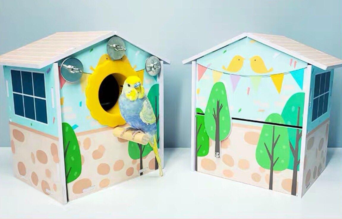 笑笑森林 虎皮牡丹巢箱    - 雙11購物節