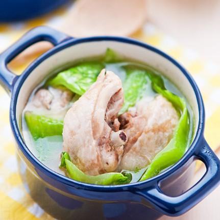 個人暖心獨享包 - 清爽蔬菜雞湯(湯底300g+雞腿塊x2) 赤豪家庭私廚