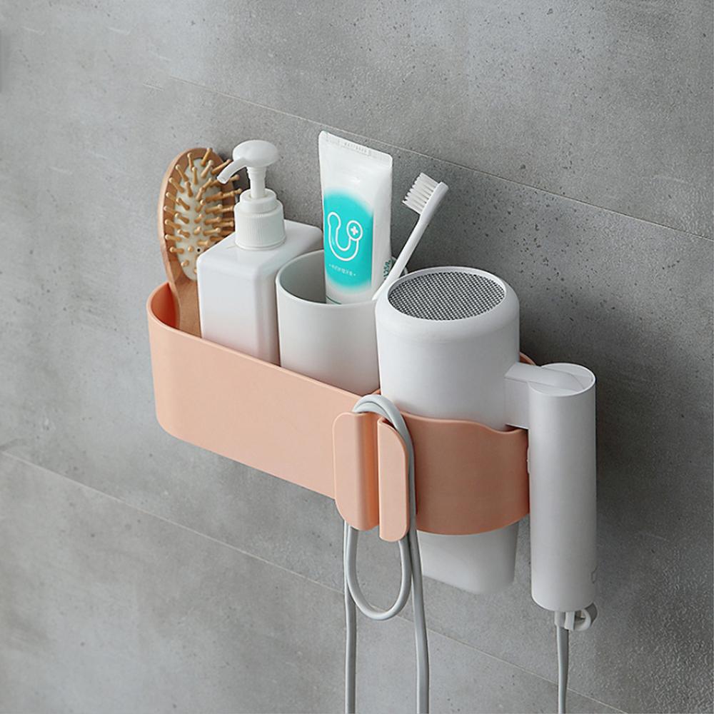 吹風機架 多功能吹風機收納架 浴室收納架 浴室置物架 電捲棒收納 壁掛架【I065】
