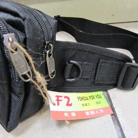 ~雪黛屋~F2  腰包防水尼龍布 小型腰包 外出 休閒 運動 上班 上課 出外旅行防竊到貼身腰包 #1809
