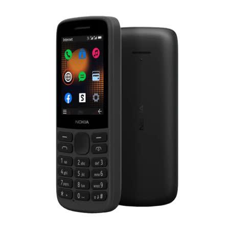 Nokia 215 4G 雙卡雙待 直立式手機 無相機 黑色 (一般版)