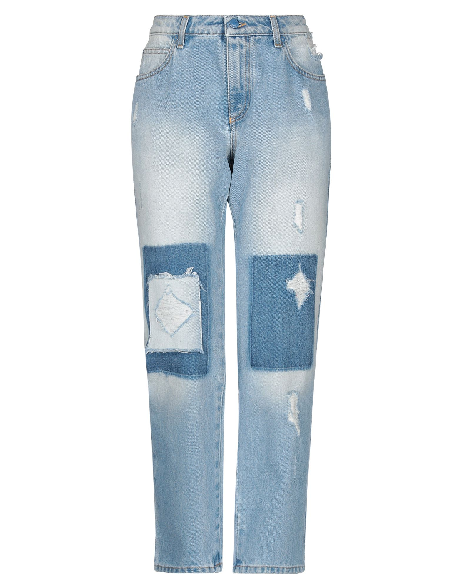 ERMANNO DI ERMANNO SCERVINO Denim pants - Item 42812300