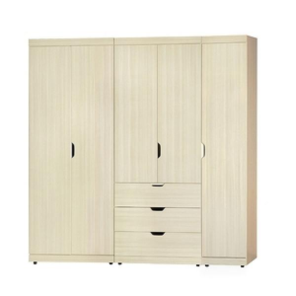 【MUNA 家居】瑞典6.6尺組合衣櫥(共三色)雪松色