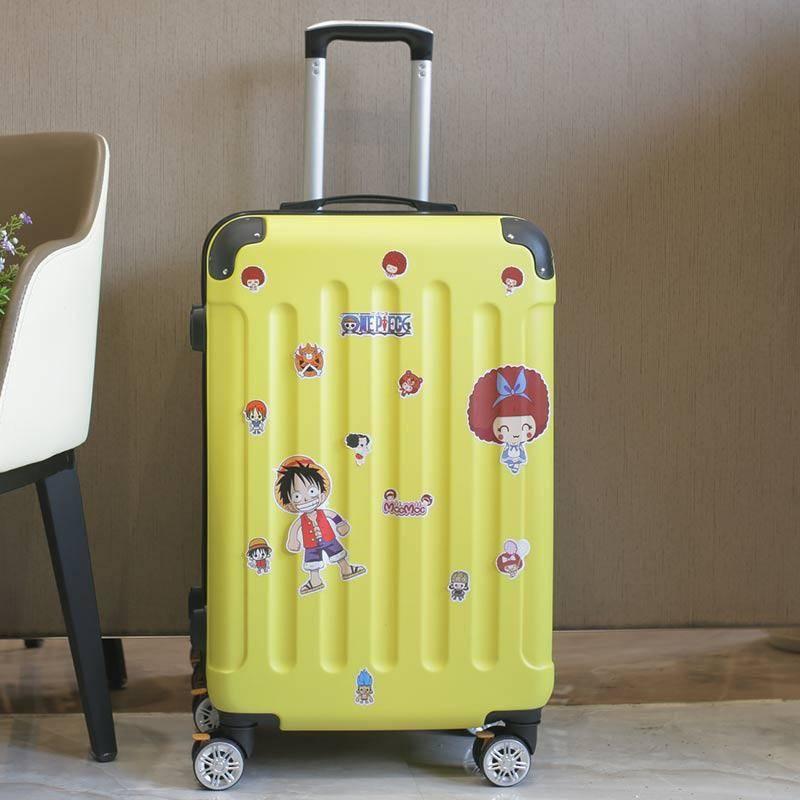 拉桿箱女萬向輪學生輕便行李箱ins小清新密碼登機箱男旅行箱皮箱