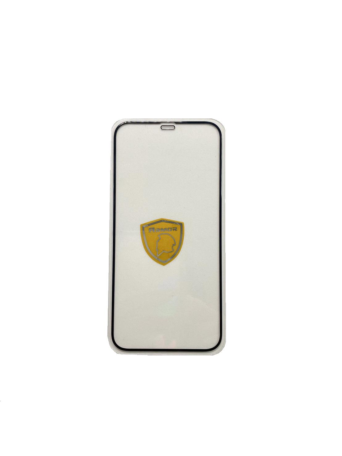 【硬度達50公斤】IPhone 12 6.1吋 DAPAD 極致 防護 3D 滿版 滿膠 鋼化玻璃貼